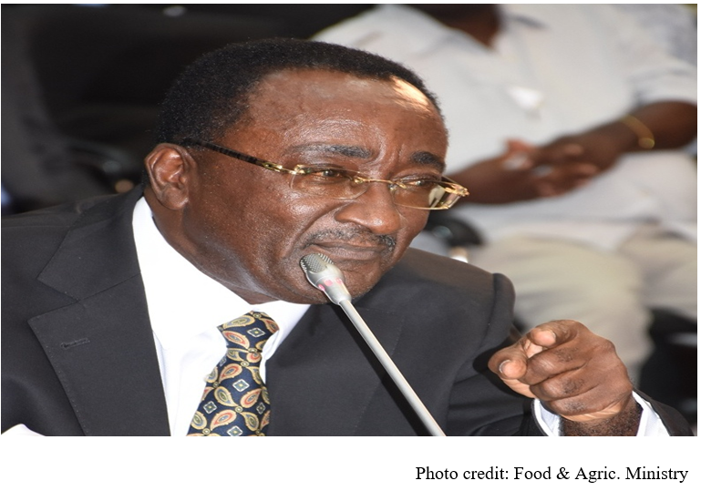 Agriculture Minister briefs Parliament on 'Planting for Food and Jobs'