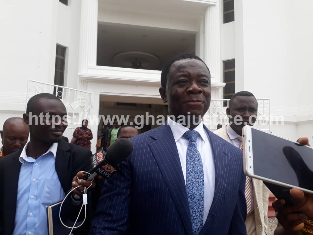 Opuni prays court to set aside an order to refreeze his accounts